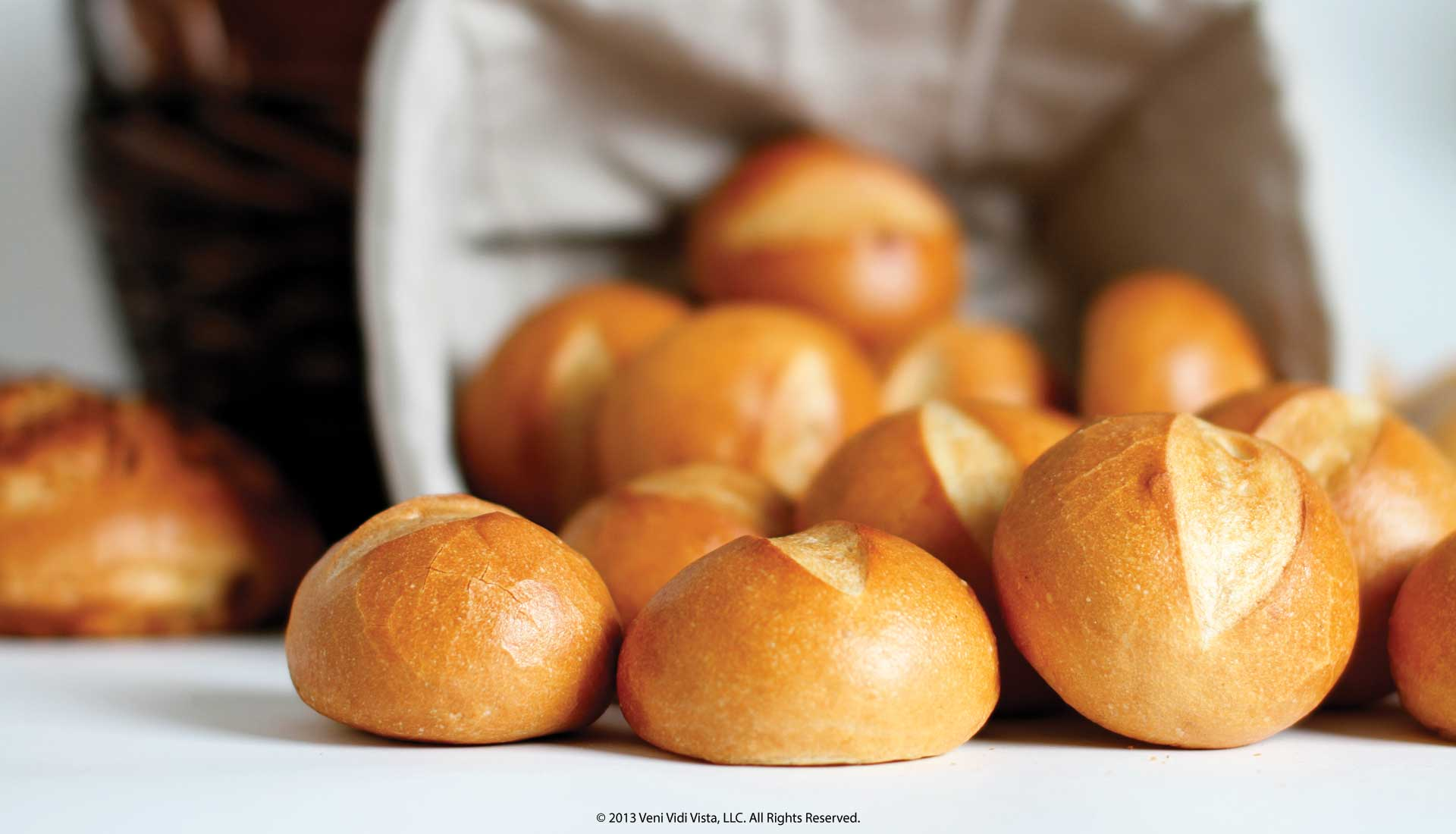 Food Bread Product Photography Basket of Rolls