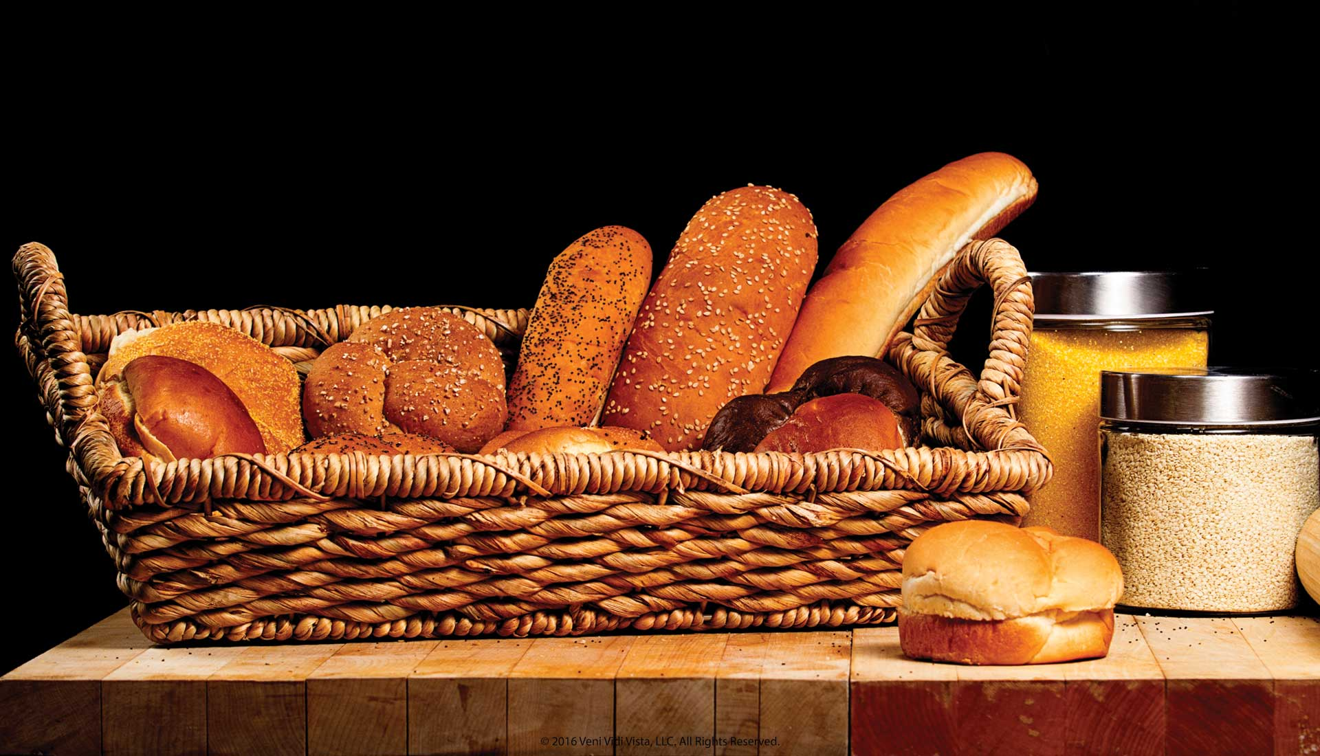 Food Bread Product Photography Basket