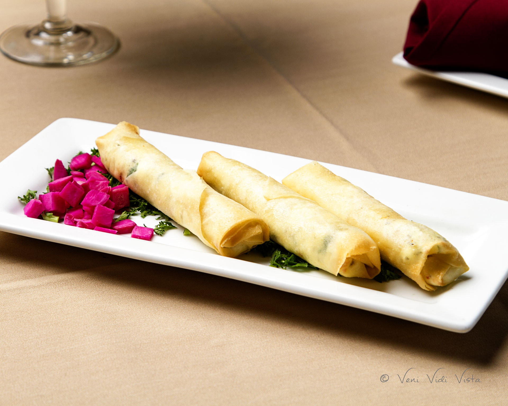 Lebanese Cheese Rolls